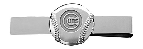 MLB Chicago Cubs Engraved Tie Bar