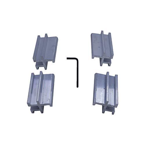 (Tonno Pro 42-599 Utility Track Installation Bracket Kit for Tonno Fold or Hard Fold for 07-15 Toyota Tundra or 05-15 Tacoma)