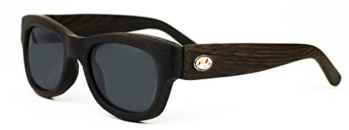 Nautique Optix Deckster Wenge Frame Gray Lens Sunglasses 45mm