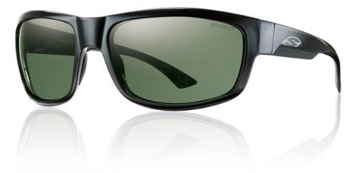 Smith Dover Sunglasses - Polarized ChromaPop Black/Gray Green, One Size