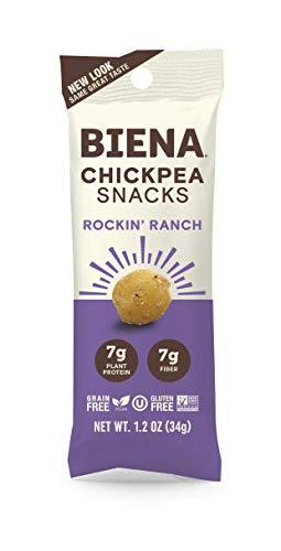 Biena Roasted Chickpea Snacks Rockin product image