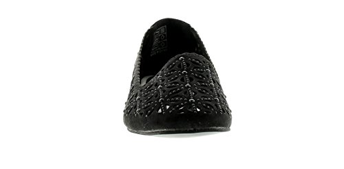 Black Ladies 9 Wynsors Slip Womens ONS Ballerina New Style Shoes Black 3 Sizes UK TTOxBqn