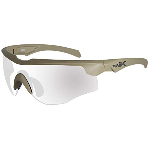 Wiley X WX Rogue COMM Glasses Frame Tan (Wiley X Saber Advanced Sonnenbrille)