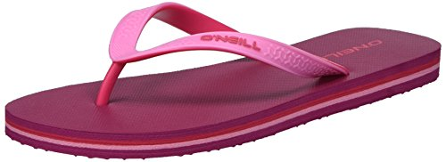 O'Neill Fw Basic Flip Flop - Chanclas Mujer Rot (Beaujolais)