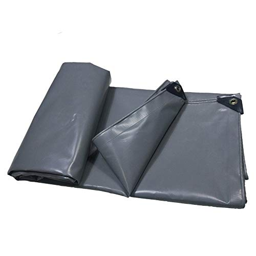(ATR Tarpaulins Silver Heavy Duty Plane Tarp Canopy Tent, Boat. RV or Pool Cover 500g / m2-0,4 mm for Outdoor use)