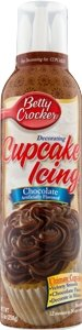 Betty Chocolate Flavored Decorating Cupcake Icing 9.1 OZ (Pack of 18)