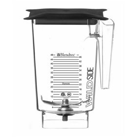 Blendtec 40-630-63 - Replacement WildSide 96oz Blending Jar (with 4'' Blade - for Blender Dispensing System) by Blendtec