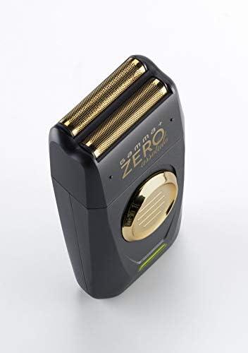 GAMMAPIU Electric Beard Razor Absolute Zero, Hombre, Recargable, Cuchillas De Acero Inoxidable, Inalámbrica, Recortadora De Precisión, Ergonómica, 2 Cuchillas De Repuesto, Enchufe Italiano: Amazon.es: Belleza