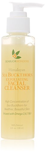 Seabuckwonders Sea Buckthorn Exfoliating Facial Cleanser, 4 Ounce