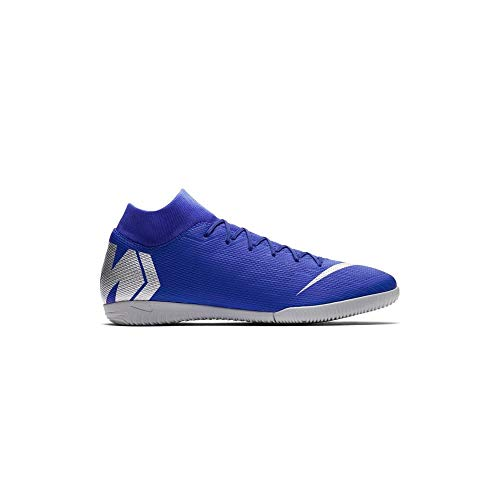 (Nike Superfly X Academy Men's Indoor Soccer Shoes (11.5 M US, Racer Blue))