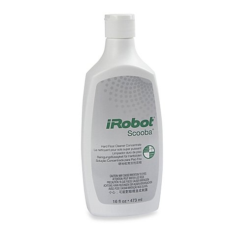 iRobot Scooba 16 oz. Hard Floor Cleaning Concentrate (3) by iRobot.