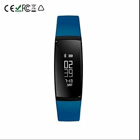 Smart banda Bluetooth Pulsera Smart Pulsera Brazalete Deportivo podómetro con monitor de frecuencia cardíaca Tensiómetro de actividad ...