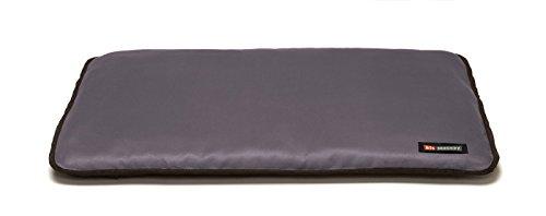 Big Shrimpy Landing Pad Faux Suede Crate Mat Medium, Plum – Comortable & Built to Last, Durable & Machine Washable, Water Resistent Nylon For Sale