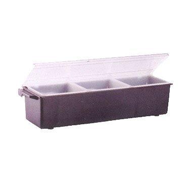 Vollrath Kondi-Keeper Condiment Dispenser, plastic, standard lid, 3 quart, 18