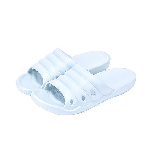 38 37 Casa Leggero Pantofole 37 di Home plastica 36 adatto Indoor BAOZIV587 sandali Estate Home Room all'aperto Bagno Bagno per Home pantofole azzurro donne e HwAU7dUqg
