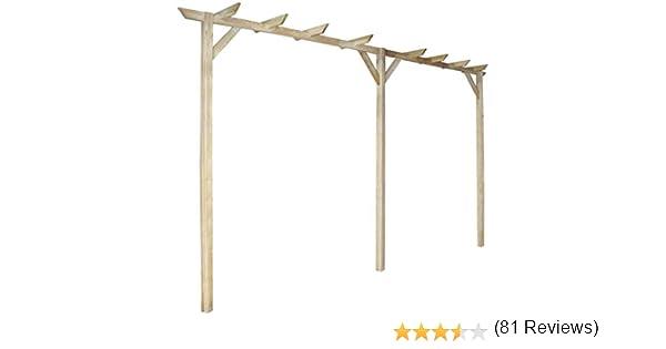 vidaXL Arco de Jardin de Rosas y Enredaderas Enrejado de Madera 400x40x205cm: Amazon.es: Bricolaje y herramientas