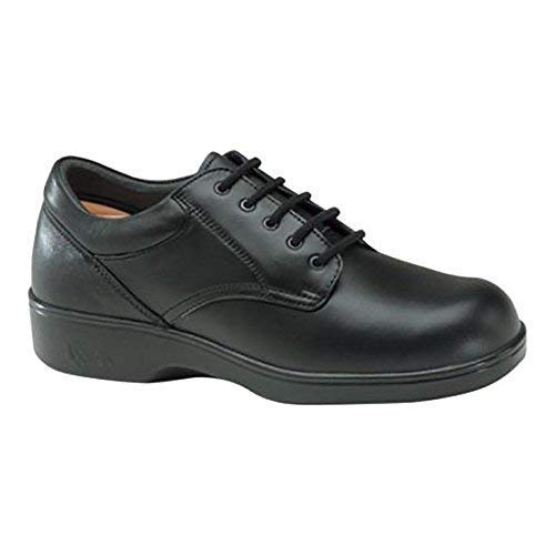 Apex Ambulator Women's Classic Lace-Up Black Oxford 9.5M