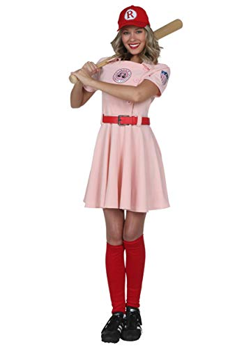 Rockford Peaches Costume - Women's Deluxe Dottie A League of
