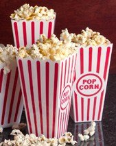 Plastic Popcorn Containers - Set of 4 for $<!--$4.99-->