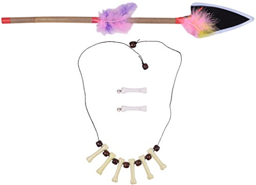 Cute Cavewoman Halloween Costumes (Necklace Bone Caveman Jewelry Men Women Halloween Role Play Dress Up Accessory)