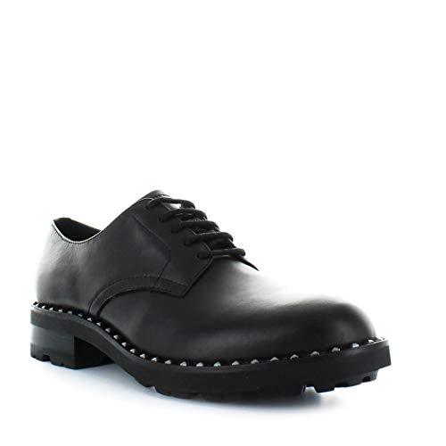 Zapatos Cordones Cuero De Mujer Ash Whisper01 Negro qtwfIgYZ