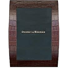 Brown leather CURVES by Dooney & Bourke - 5x7