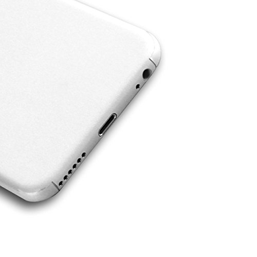 AppSkins Folien-Set iPhone 6s Full Cover - Color Edition white