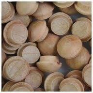 WIDGETCO 1//2 Cherry Button Top Wood Plugs