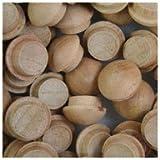 WIDGETCO 3/8'' Cherry Button Top Wood Plugs