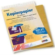 Javana Kopierpapier gelb, 3Bg. A3