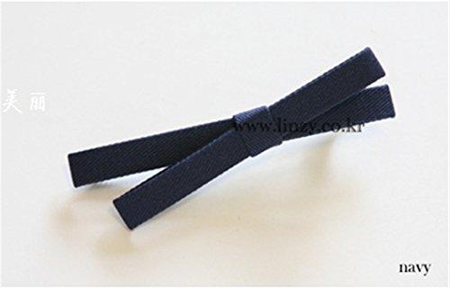 Unique Cross Bow Hand Hairpin Duckbill Hair Clip Barrette Hair pin Comb Claw fine Edge Clamps Hair Clip Barrette (deep Blue