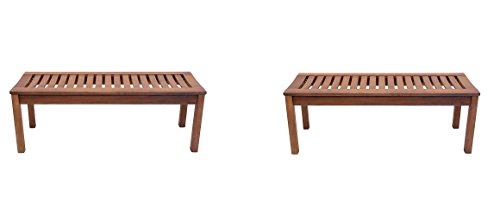 4' Backless Bench - 8