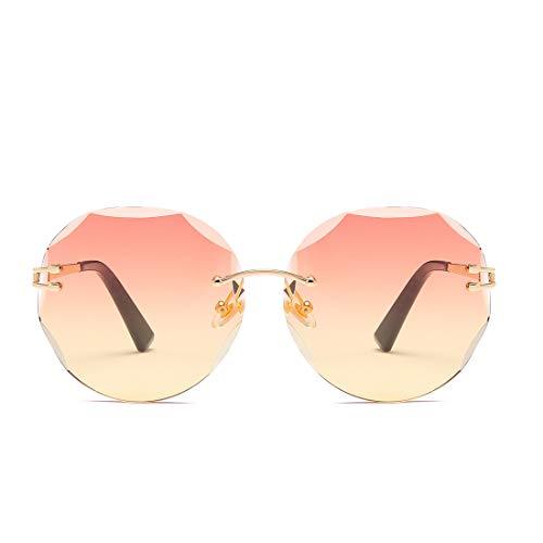 UV400 à miroirs Color pour Lens caméléon Green Lunettes Femmes de Frame Femmes Orange Gold Frame Lunettes Lens Gold de Soleil Verres Soleil Sakuldes Bt6Yx