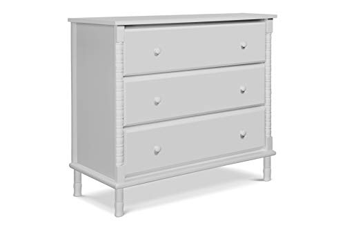 pindle 3 Drawer Dresser, Fog Grey ()