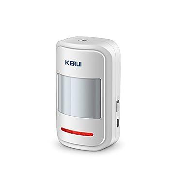 Detector de alarma de sensor de movimiento PIR inalámbrico inteligente para GSM PSTN Home Burglar sistema