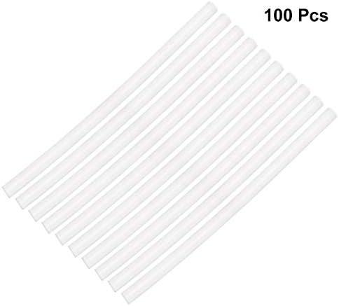 [スポンサー プロダクト]VORCOOL グルースティック ホットスティック 7mm 高温タイプ 強力粘着 接着剤 ボンドガン ピタガン替え用 100本