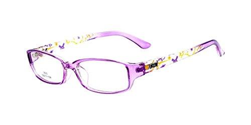 Purple New Child's Children Girl Boy Myopia Eyeglass Frame Glasses Optical Eyewear - Sports Prescription Boys Glasses
