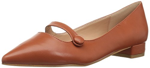Brinley Co Womens Vilma Loafer Flat Rust