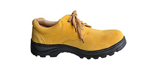 Men's Work Safety Shoes, Steel Toe Work Shoes Industrial & Construction Shoes Puncture Proof Safety Shoes (11) by GeBaoZhen (Image #1)