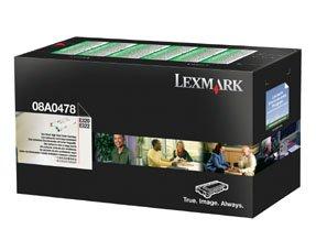 NEW Lexmark OEM Toner 08A0478 (1 Cartridge) (Mono Laser Supplies)