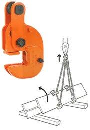 イーグルクランプ FHA型 形鋼絞りつり用クランプ FHA-1.0-10-20 B01KIZPOSE