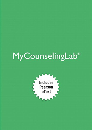 MyLab Counseling with Pearson eText -- Access Card -- for Professional Counseling: A Process Guide to Helping (8th Edition) (My Counseling Lab)