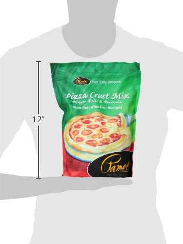 Pamela's Products Gluten Free Pizza Crust Mix, 4 Pound (Pack of 6) by Pamela's Products (Image #3)