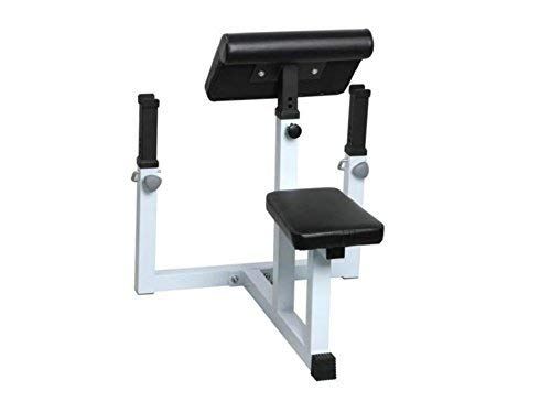 Seated Arm Curl Bench Machine Commercial Preacher Dumbbell Biceps Home Gym New Adjustable-it - House Deals