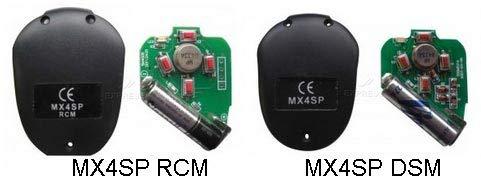 frecuencia 433,92 Mhz c/ódigo din/ámico FALK Mando garaje Motorline MX4SP nuevo modelo 4 canales compatible con sistemas Motorline Professional.