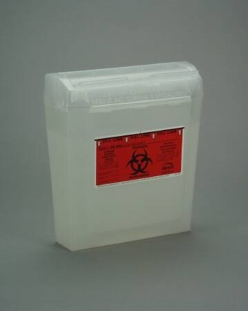 Multi-purpose Sharps Container Wall Safe - Item Number 150-030CS - Red Base - 24 Each / Case
