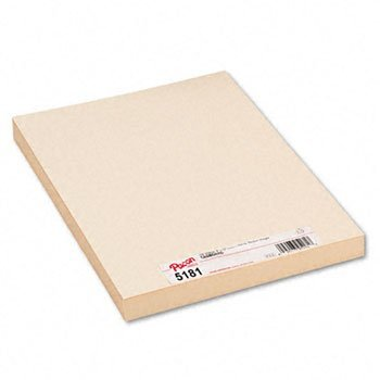 Pacon 5181 Medium Weight Tagboard 12 X 9 Manila 100/pack by Pacon (Image #1)