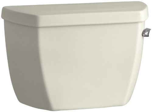 Kohler K-4645-TR-96 Highline Classic Pressure Lite Toilet Tank with Tank Cover Locks and Right-Hand Trip Lever, Biscuit