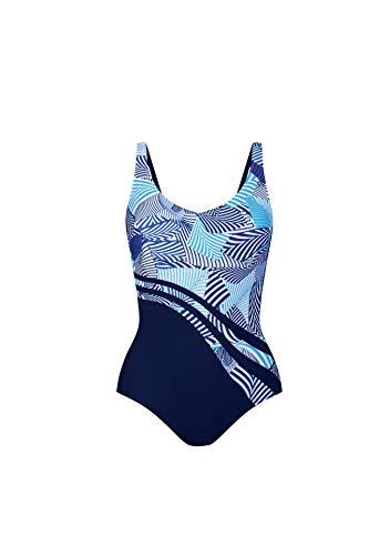 Anita Womens Dirban Care Swimsuit, 12D, Maritime Blue