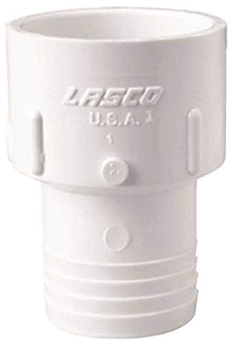 LASCO FITTINGS GIDDS-99245 Pvc Sch 40 Slip x Insert Adapter 3/4